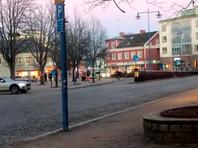 В Швеции мужчина с холодным оружием ранил восемь человек