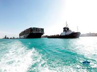 Суда начали движение к ранее перекрытой части Суэцкого канала