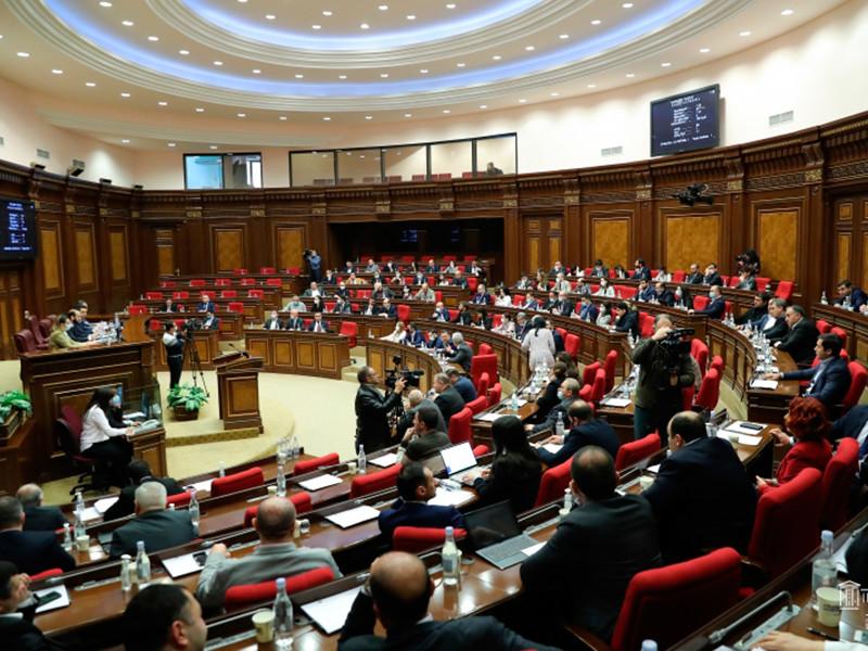 Парламент Армении отменил военное положение, введенное в стране 27 сентября 2020 года