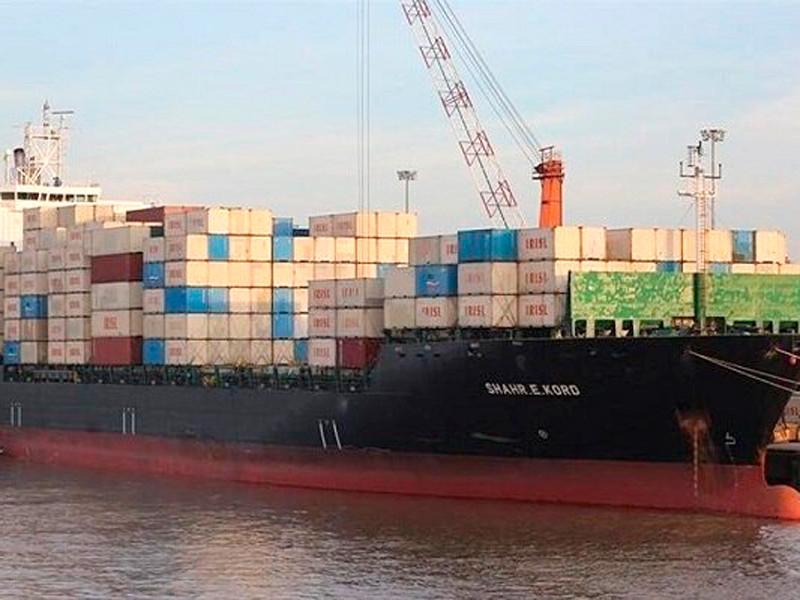 "Иранское грузовое судно ""Shahr-e Kord"""