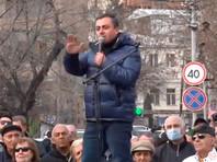 """Оппозиция Армении призвала """"поднять восстание"""" против Никола Пашиняна"""