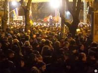 В центре Еревана на проспекте Баграмяна начался митинг оппозиции с требованием отставки премьер-министра Армении Никола Пашиняна и возглавляемого им правительства