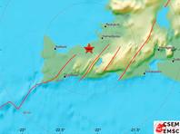 В Исландии снова произошло сильное землетрясение