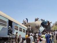В Египте при столкновении двух поездов погибли более 30 человек (ВИДЕО)