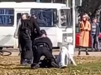 """В Беларуси силовики задержали не менее 245 человек на акциях протеста 27 марта, сообщил белорусский правозащитный центр """"Весна"""""""
