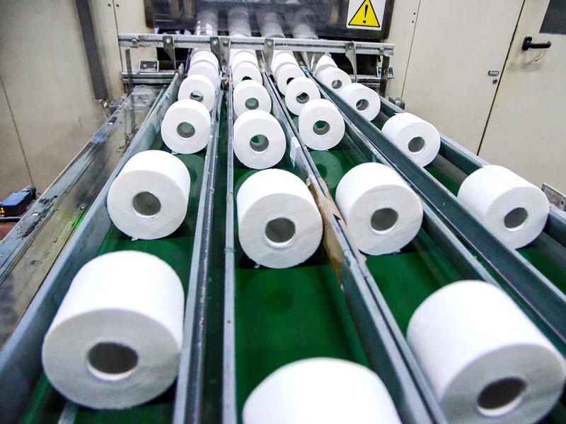 Завод по производству туалетной бумаги