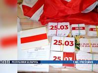 Несколько десятков жителей Белоруссии были задержаны 24 марта, накануне неофициального праздника независимости - так называемого Дня Воли