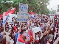 В Парагвае с пятницы продолжаются массовые протесты против президента республики Марио Абдо Бенитеса и правительства, переросшие в выходные в столкновения с полицией