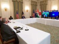 Лидеры Австралии, Индии, США и Японии по видеосвязи обсудили вызовы со стороны Китая