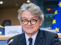 Еврокомиссар заявил, что ЕС не испытывает необходимости в российской вакцине от коронавируса