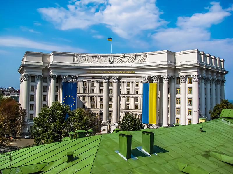 МИД Украины объявил российского консула в Одессе персоной нон грата в ответ на аналогичные действия РФ