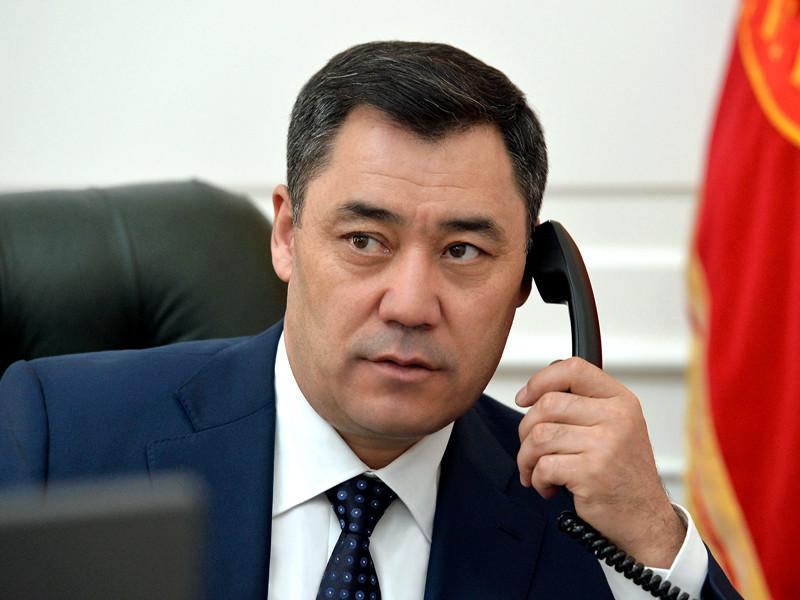 Президент Киргизии Садыр Жапаров