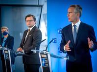 Генеральный секретарь НАТО встретился в Брюсселе с главой МИД Украины