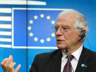 """Верховный представитель ЕС по иностранным делам и политике безопасности Жозеп Боррель выразил обеспокоенность """"российской военной активностью"""" вокруг Украины"""