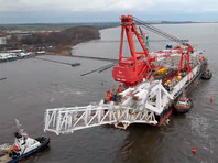 """Ранее в апреле издание Politico сообщило, что Минюст США еще в марте дал """"зеленый свет"""" на еще два санкционных пакета, направленных против компании Nord Stream 2 AG, ответственной за планирование, сооружение и функционирование газопровода, и ее руководителя Матиаса Варнига"""