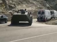 Обстановка на киргизско-таджикской границе продолжает оставаться напряженной, сообщается о гибели людей