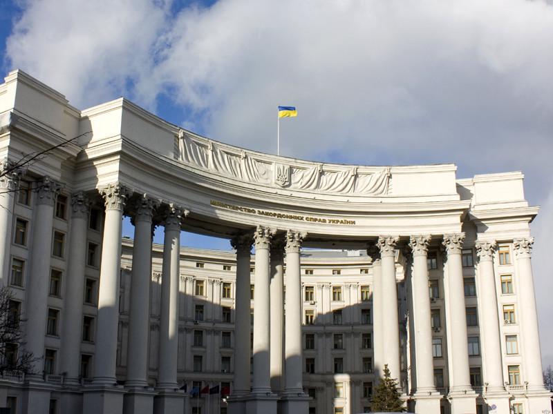 В распространенном 12 апреля заявлении украинского министерства иностранных дел говорится, что Киев направил предложение Москве, руководствуясь международными договоренностями