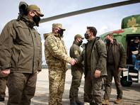 Президент Украины Владимир Зеленский прибыл с рабочей поездкой в Донбасс