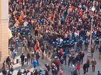 """В Риме участники """"антикарантинной"""" акции протеста пытались повторить """"штурм Капитолия"""" (ФОТО, ВИДЕО)"""