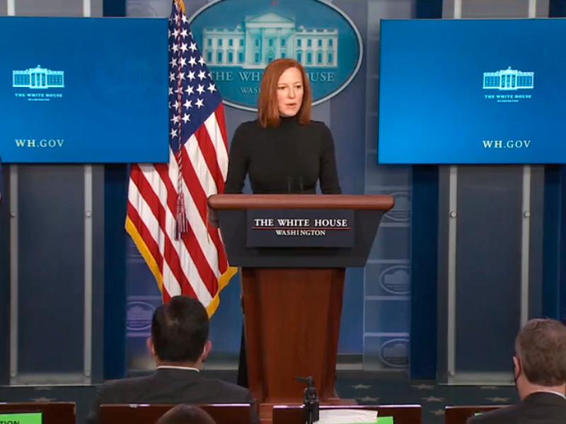Вашингтон готовит ответ на осложнение ситуации на границе Украины, заявила в пятницу на регулярном брифинге для журналистов представитель Белого дома Джен Псаки