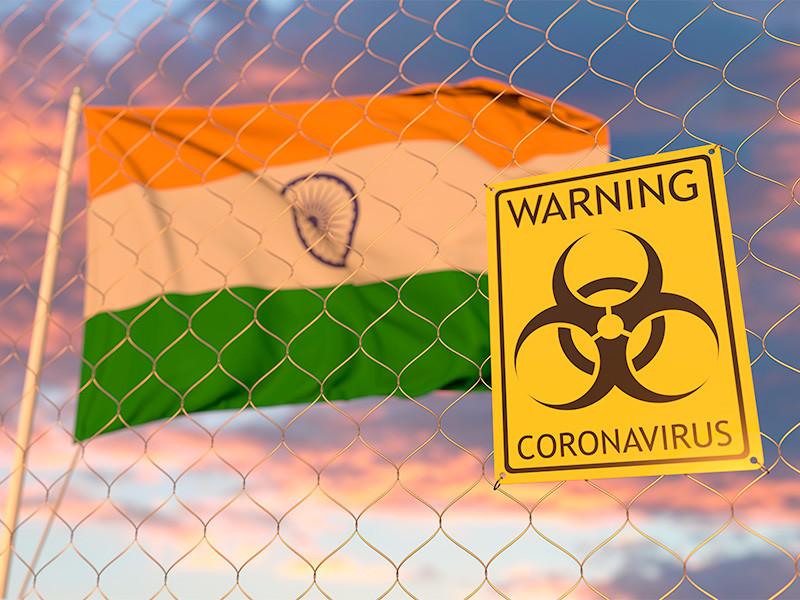 В Индии зафиксированы 3 689 случаев гибели пациентов от COVID-19 за сутки - это максимальное значение за все время распространения вируса в стране