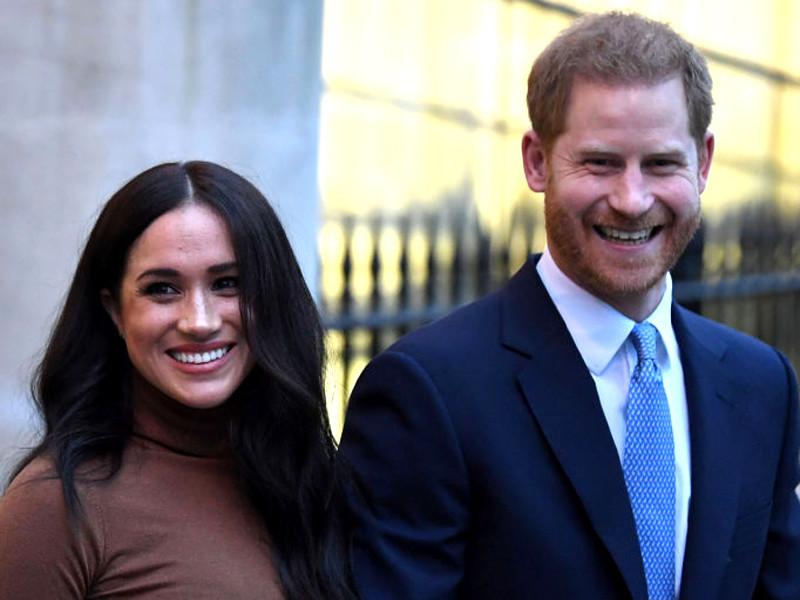 Принц Гарри с супругой Меган Маркл