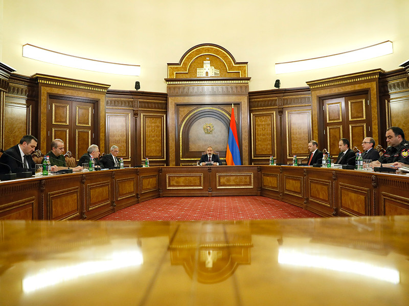 Заседании Совета безопасности Армении