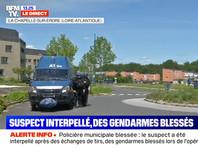 Во Франции после перестрелки задержан мужчина, ранивший ножом сотрудницу полиции