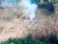 Последствия взрывов на складе боеприпасов в селе Врбетице, 16 октября 2014 года