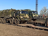 Войска Южного военного округа и ВДВ приступили к возвращению в пункты постоянной дислокации после участия в межвидовом учении в Крыму, 23 апреля 2021 года