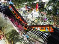 20 человек погибли при обрушении метромоста в Мехико