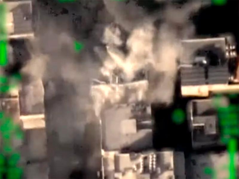 Израиль уничтожил штаб службы внутренней безопасности ХАМАС в Газе