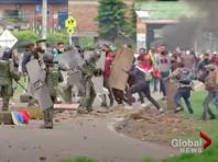 С 28 апреля в Колумбии проходят демонстрации против налоговой реформы. Беспорядки произошли в Боготе, Кали, Медельине и других городах