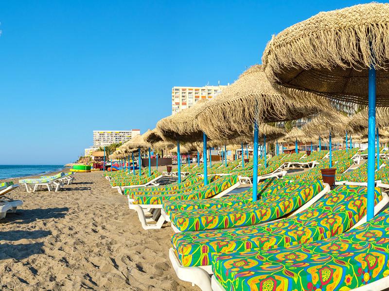 Пляж в Андалусии