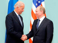 Владимир Путин и Джо Байден, март 2011 года
