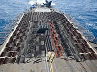 Незаконный груз перевозило судно без опознавательных знаков, которое было досмотрено американцами 6 и 7 мая