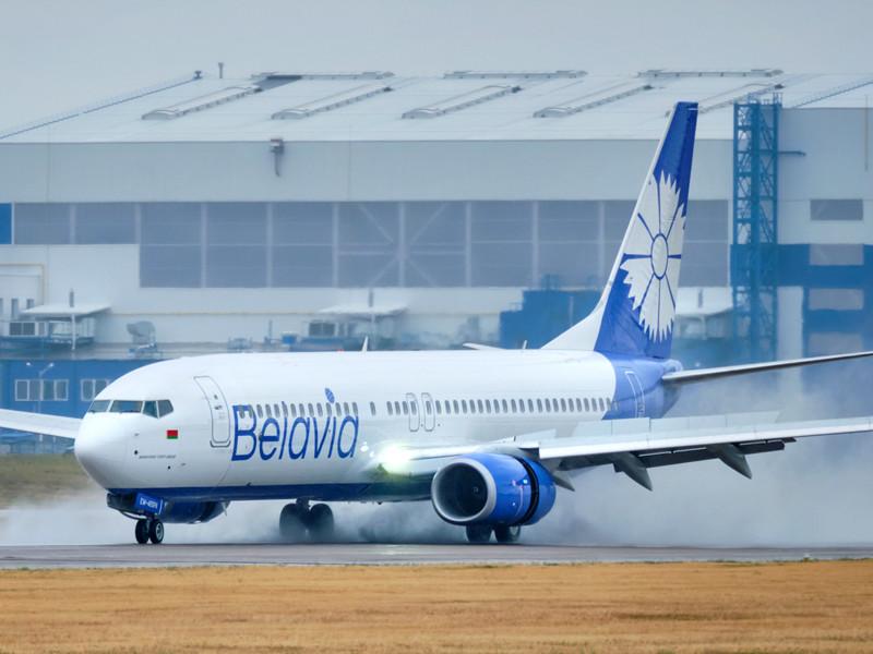 "Самолет Boeing 737-800 компании ""Белавиа"""