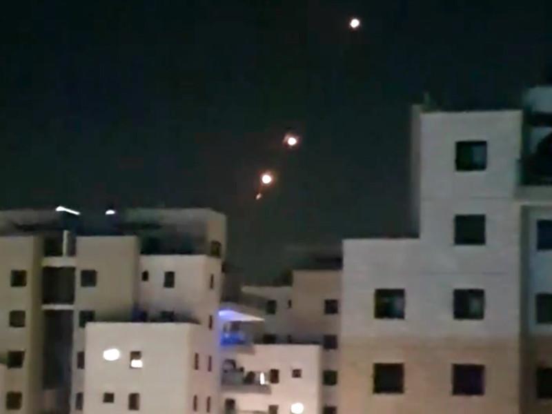 Вечером 13 мая продолжается обстрел Израиля со стороны сектора Газа