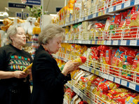 Минэкономразвития: россияне продолжают экономить на еде