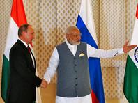 Индия получит российские ракетные комплексы, фрегаты и вертолеты на миллиарды долларов