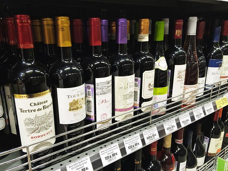 В третьем квартале 2016 года резко сократились поставки алкоголя в Россию из-за перехода на акцизные марки нового образца