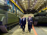 """Путин передал акции """"Уралвагонзавода"""" госкорпорации """"Ростех"""" для создания единого бронетанкового холдинга"""