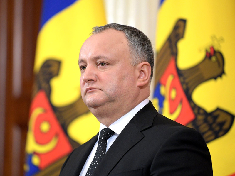 """Президент Молдавии: в урегулировании долга перед """"Газпромом"""" есть """"наметки"""""""