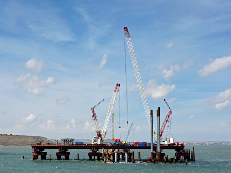 Железнодорожные подходы к Керченскому мосту построит компания Ротенберга