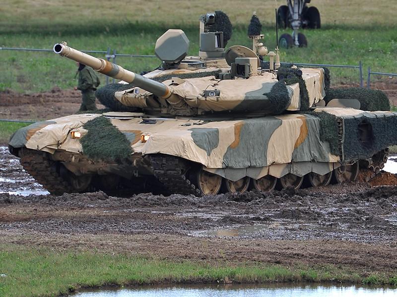 Россия заключила на контракт на поставку танков Т-90МС в страны Ближнего Востока