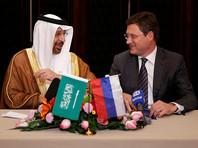 Министр энергетики России Александр Новак и министр энергетики Саудовской Аравии Халид аль-Фалех, на переговорах в Пекине