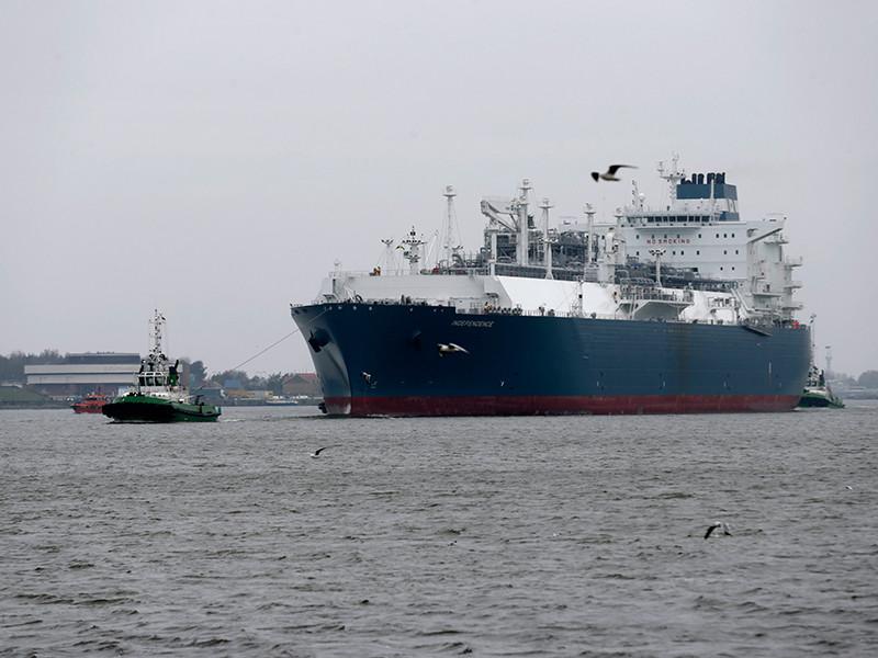 Первая партия сжиженного природного газа (СПГ) из США прибыла в Клайпедский морской порт на Балтике