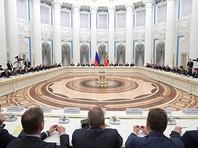 """Путин на встрече с российскими """"капитанами бизнеса"""" объявил о выходе из рецессии и призвал сохранить достигнутое"""