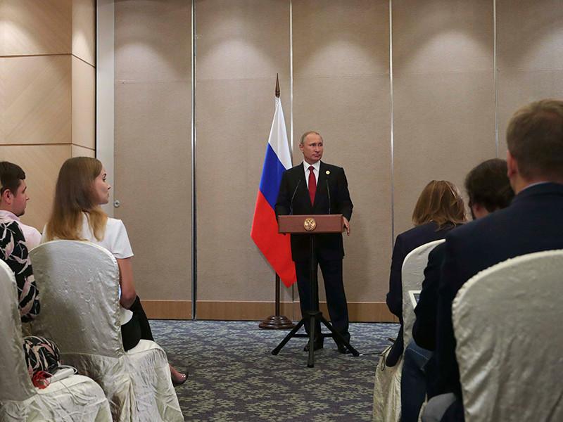 """Путин заявил, что надеется на мировое соглашение между """"Роснефтью"""" и """"Системой"""""""