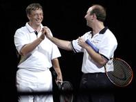 Билл Гейтс и Джефф Безос, 7 октября 2001 года